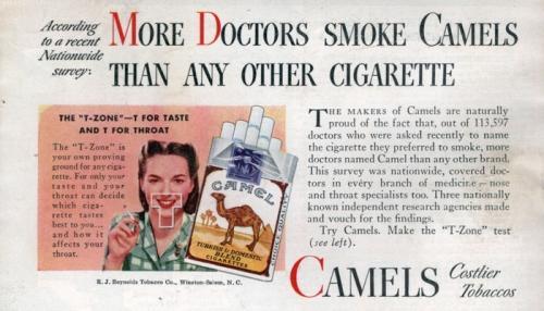 Врачи курят Camel