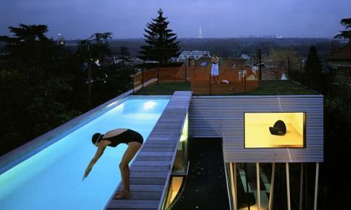 Прикольный бассейн
