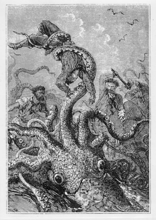 Жюль Верн: Так сказать, осьминог
