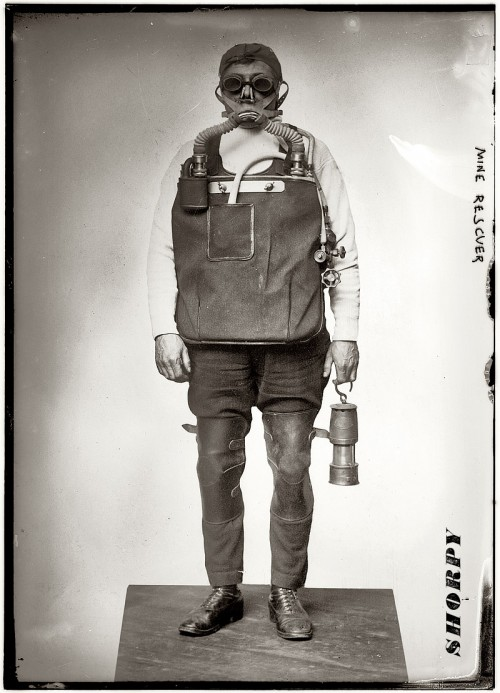 Спасатель шахтёров