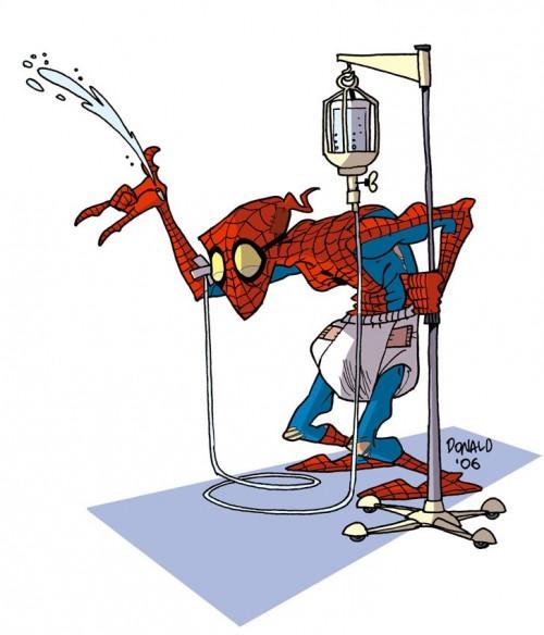 Супергерои - Спайдермэн