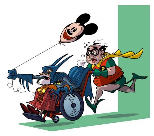 Супергерои - Бэтмен и Робин