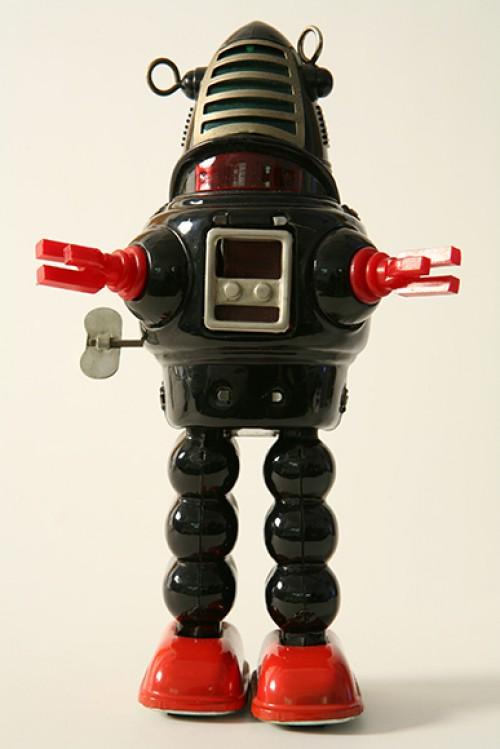 Винтажные роботы - Робби робот