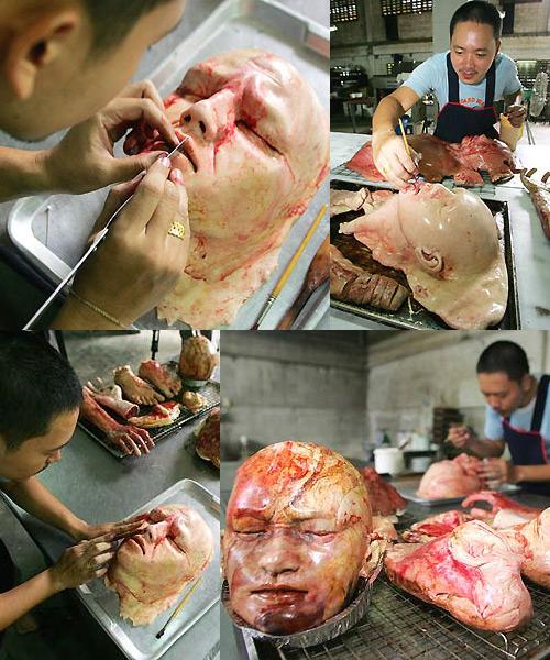Китайский пекарь-художник