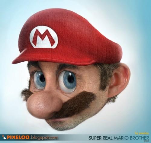 Pixeloo - Марио