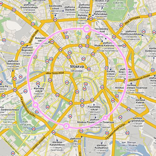 Большой адронный коллайдер - Москва