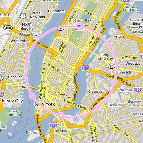Большой адронный коллайдер - Нью-Йорк