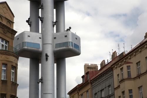 Жижковская телевизионная башня 4