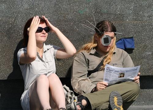 Солнечное затмение - Фриказоид