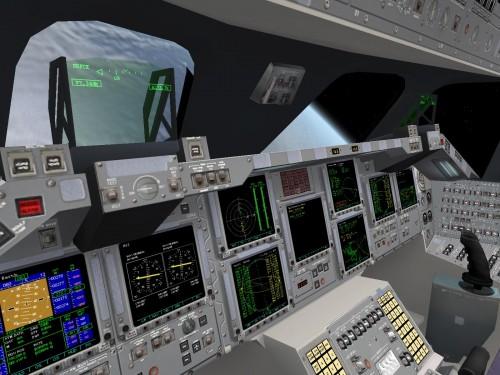 Orbiter - Интерьер шаттла «Атлантис»