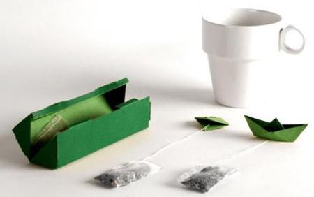 И вот такой чай
