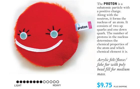 Протон весьма банален, но пушист.